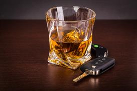 Bourbon and car keys - DUI lawyer St. Petersburg